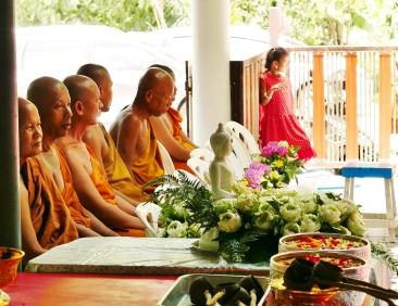 Les 5 moines du temple
